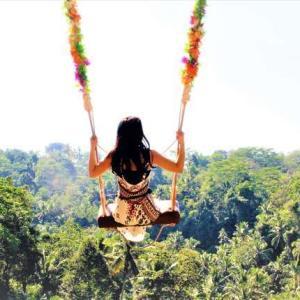 【バリ島観光情報】バリの大自然に囲まれたフォトジェニックブランコに乗ってきた!!【BALI SWING ウブド】