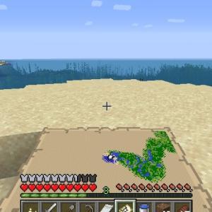 Minecraft 初めて出会う熱帯魚 ~西の暖かい海~