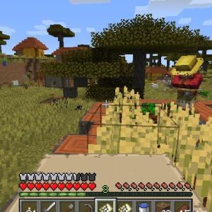 Minecraft エキゾチックな文化交流 ~西側で12個目の村発見~
