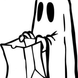 幽霊がいる!