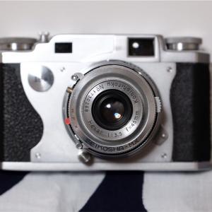 眉目秀麗なフィルムカメラ「Konica II B-m」を一目惚れで買った話