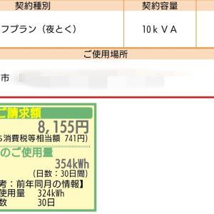 9月の電気代・売電金額発表!