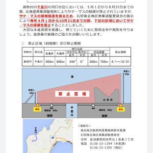 雨ニモマケズ/千走川河口規制延長