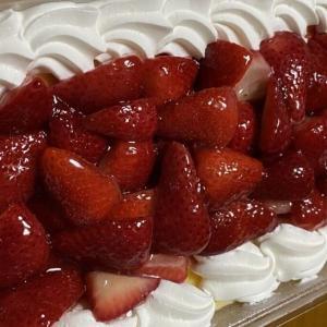 【重量1.5kg苺多めWクリームケーキ】友3回 : ストロベリースコップケーキ 1500g!(コストコ)