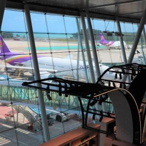 プーケット国際空港での過ごし方:国際線出国エリア
