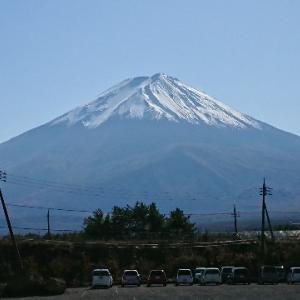 綺麗な富士山見てきました