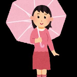 梅雨 地味だけど可愛い傘