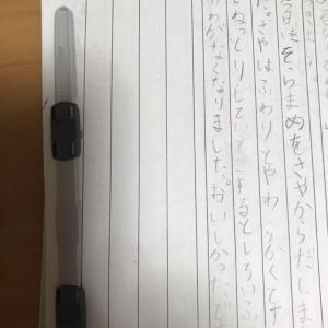 宿題日記(子育て編)