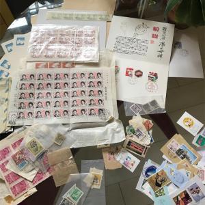 使用済み切手を寄付