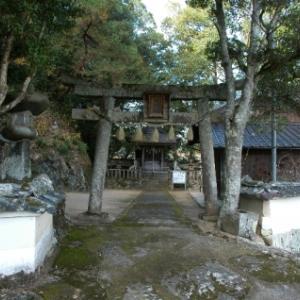 【篠山→黒井】おさらいポタ<3>天満神社(上坂井)&明月神社(小坂)