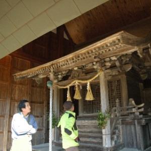 【篠山→黒井】おさらいポタ<5>八柱神社(栗柄)ー2