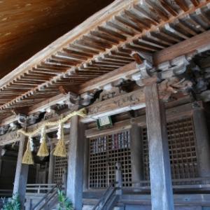 【篠山→黒井】おさらいポタ<6>八柱神社(栗柄)ー3