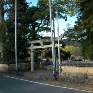 【篠山→黒井】おさらいポタ<12>再訪:大原神社(広瀬)