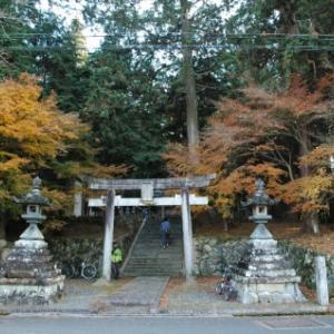 【篠山→黒井】おさらいポタ<14>再訪:八田神社(中山)