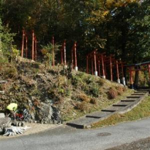 【篠山→黒井】おさらいポタ<17>新参〜稲荷神社(大沢)