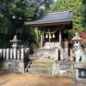 【篠山→黒井】おさらいポタ<18>新参:二つの八幡神社
