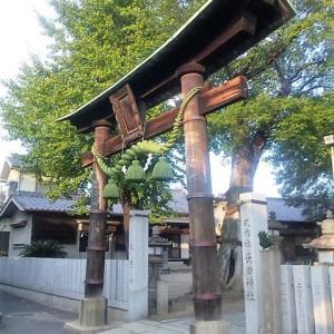 【東大阪徘徊/16】長田神社(長田)~2011年の風景