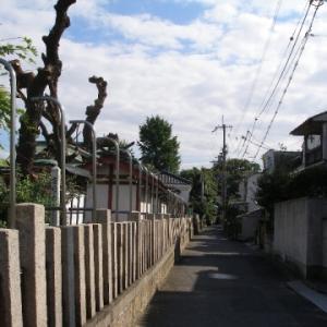 【東大阪徘徊/21】彌栄神社(中小阪)へ~2011年の風景