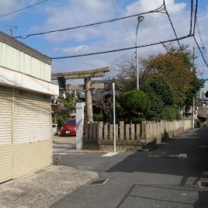 【東大阪徘徊/23】上小坂八幡神社(上小坂)へ~2011年の風景