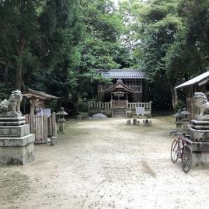 【マキノ町徘徊】その24〜八幡神社(石庭)・春日神社(辻)