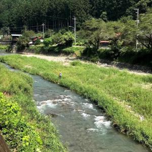 【名栗川&成木川の釣り場動画】東京都側から峠を越えて名栗入り。赤トンボ舞って、川は秋の気配