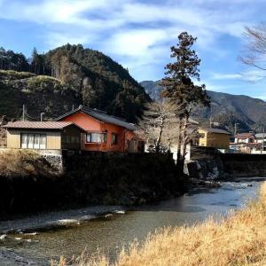 ヤマメ釣り解禁前の名栗川。ゆっくりと、釣り場再生