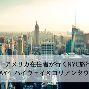 アメリカ在住者が行くニューヨーク国内旅行(3日目:ハイウェイ&コリアンタウン編)