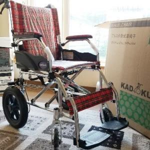 59.9kg 敬老の日プレゼントは軽自動車に楽々積める車いす(^-^*)/