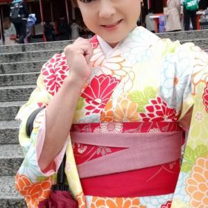 雨の京都を着物散策 その2