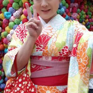 雨の京都を着物散策 その3