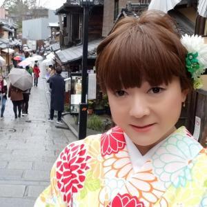 雨の京都を着物散策 その4