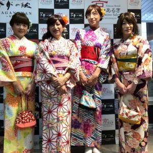 着物の前に大阪女子会