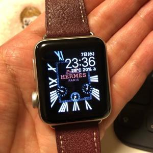 Apple Watchの文字盤をなんちゃってエルメスにする方法