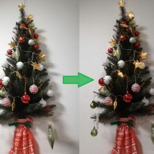 【冬支度】クリスマスツリー出しました