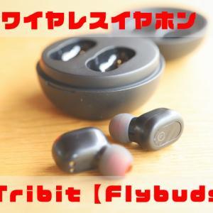 完全ワイヤレスイヤホン【Tribit Flybuds 1】レビュー!IPX7の完全防水・ワイヤレス充電に対応!5000円以下のハイコスパ!【BTH91】