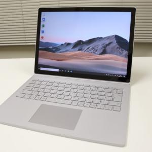 【SurfaceBook3 レビュー】ハイスペック2in1ノートPC:GPU搭載でクリエイター向けに最適【13.5インチ】