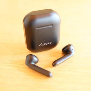 【cheero Earphones Light Style 2 レビュー】耳を圧迫しないインナーイヤー型ワイヤレスイヤホン【CHE-632】