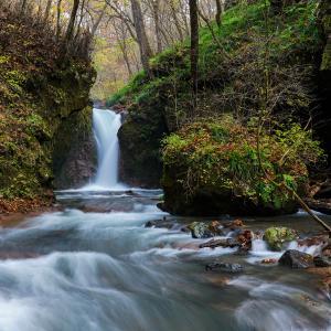 軽井沢 -『 竜返しの滝 』を味わう