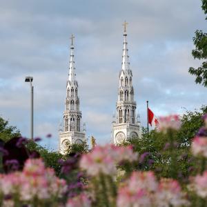 カナダのノートルダム大聖堂