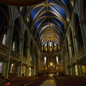 星降る教会 - オタワ・ノートルダム大聖堂