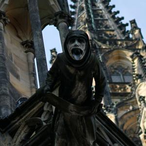 プラハ城の死神