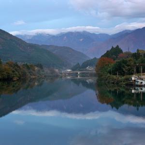 廃線と木曽の水鏡  〜  阿寺渓谷を歩く #7