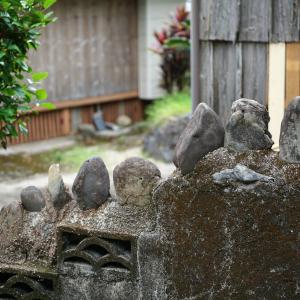 うねうねの路地を行く - 屋久島『 中間集落 』を歩く