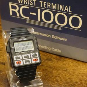 80年代のデジタルウォッチ『 SEIKO RC-1000 』