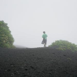 霧の裏砂漠