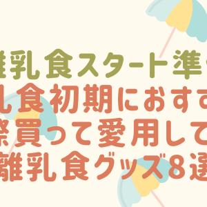 【離乳食準備】買ってよかった♪離乳食の便利グッズおすすめ8選!【初期~】