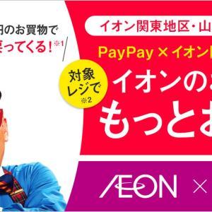 PayPay 関東イオン32店舗で遂に解禁 節約術で増税も怖くない