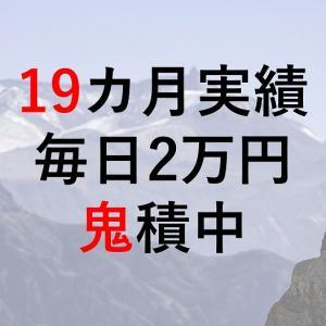 【19カ月実績】楽天全米株式インデックスファンド(楽天VTI)毎日2万円鬼積中【利回り】