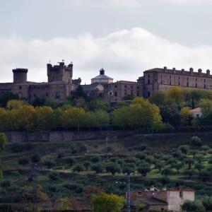 15世紀初頭、トレドの貴族のために造られたお城、パラドール・オロペサ(Parador Oropesa)