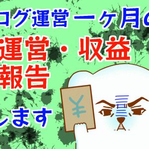 ブログ開始一ヶ月の運営・収益報告〜Google AdSense 合格〜